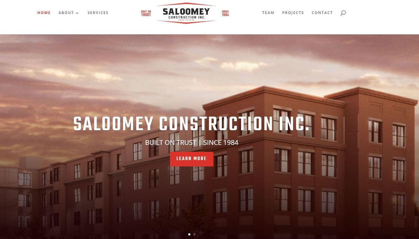 Saloomey WordPress Website Design Suffield CT
