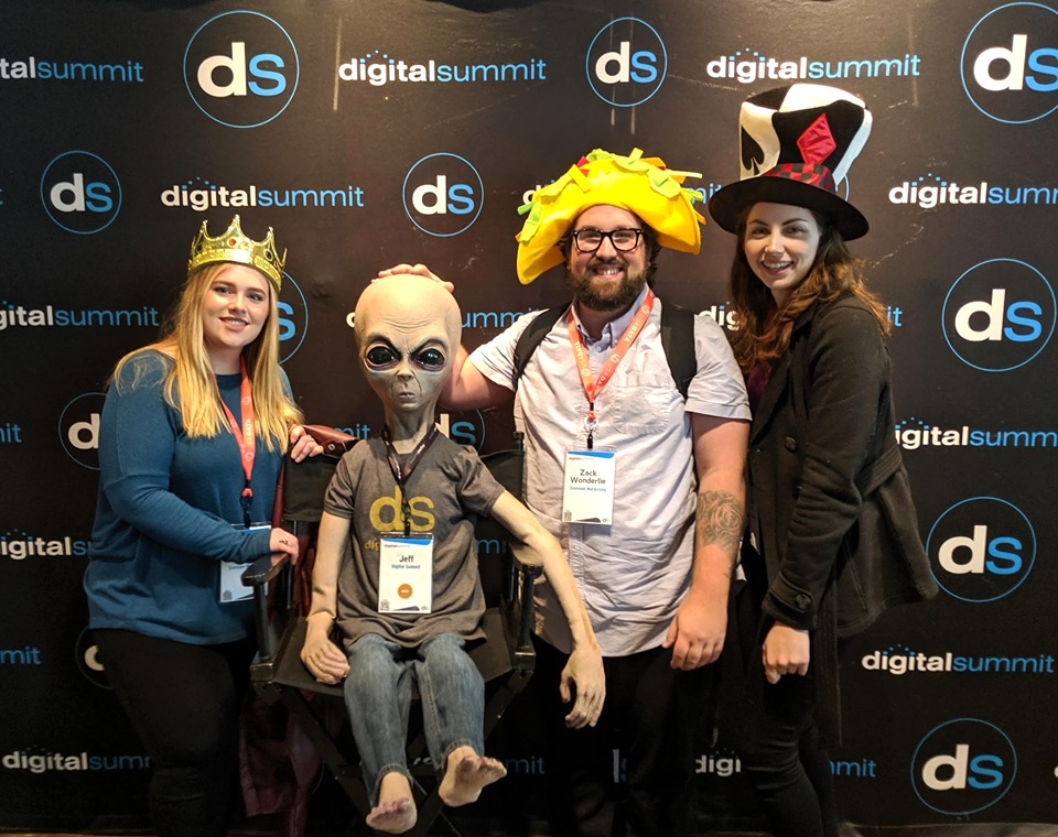 Emg Team Attends Digital Summit In Boston