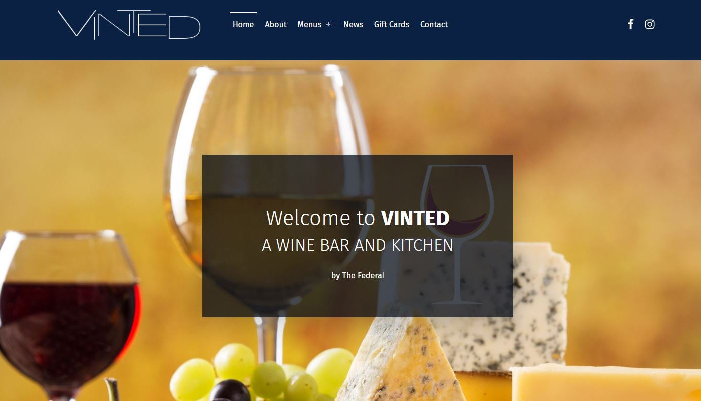 Restaurant Web design West Hartford