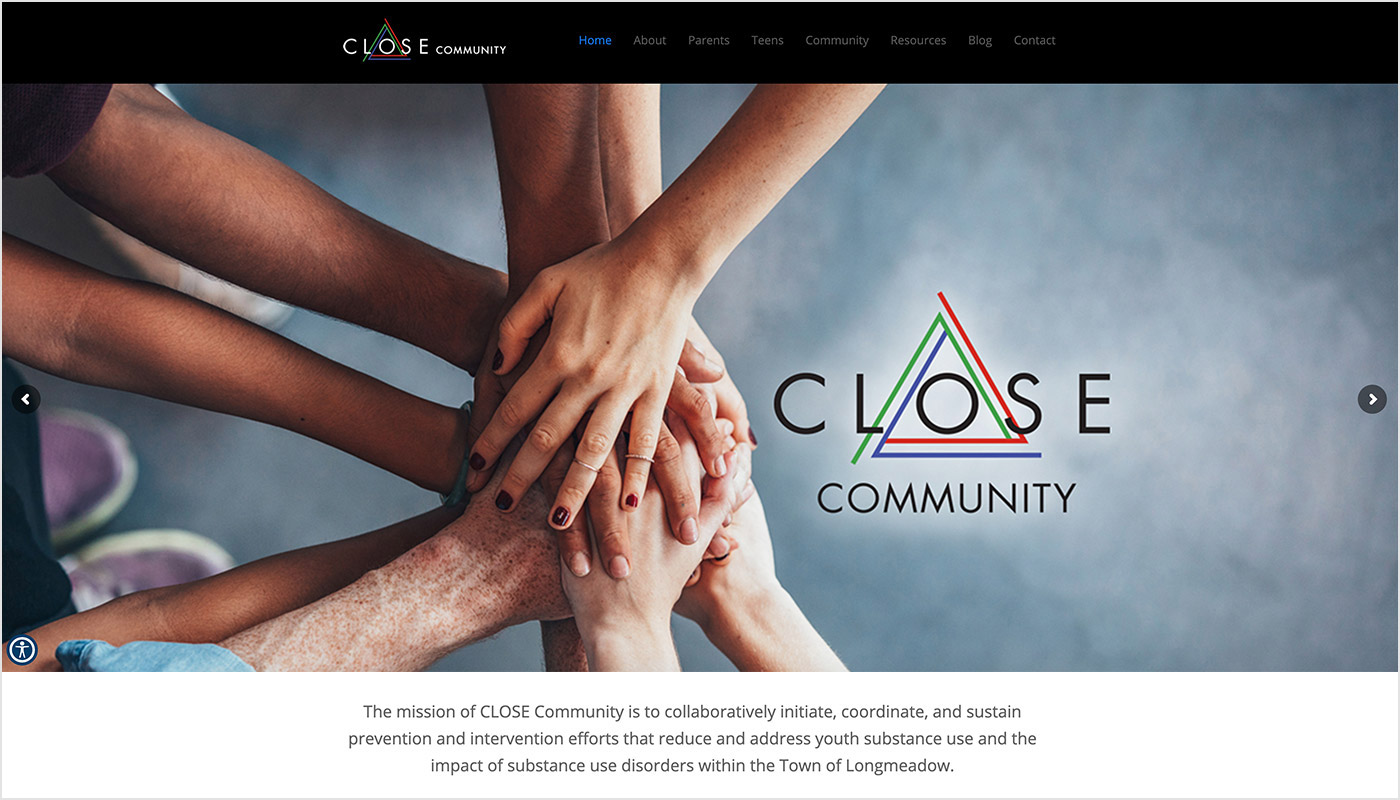 Close-Community-Longmeadow-Custom-WordPress-Website-Design