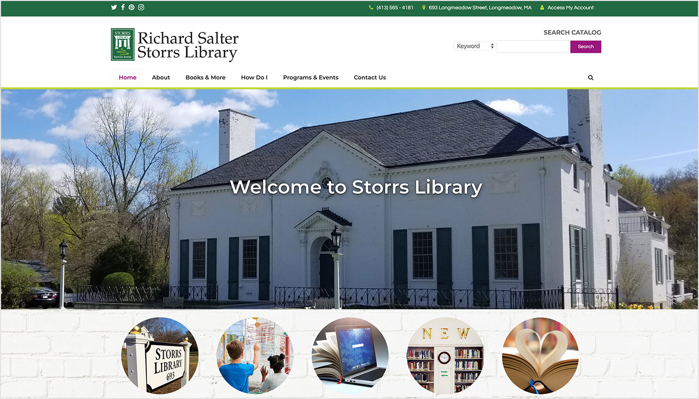 Longmeadow-Library-Richard-Salter-Storrs-Custom-WordPress-Website-Design