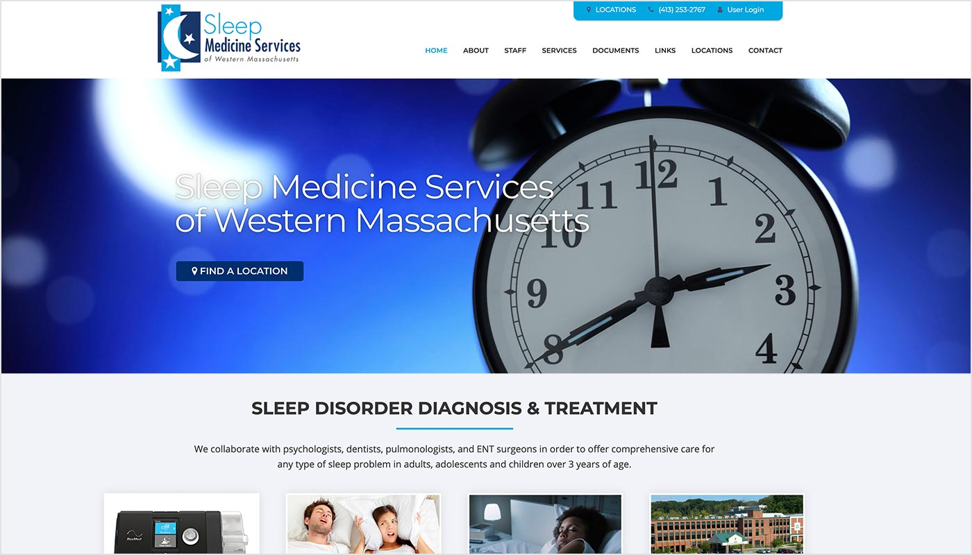 Sleep-Medicine-Services-Springfield-MA-Custom-WordPress-Website