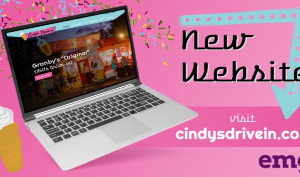 Cindy's Drive-In Web Design