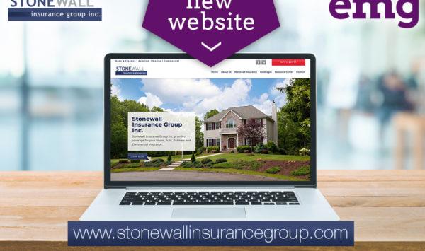 Stonewall Insurance Group Inc. Web Design