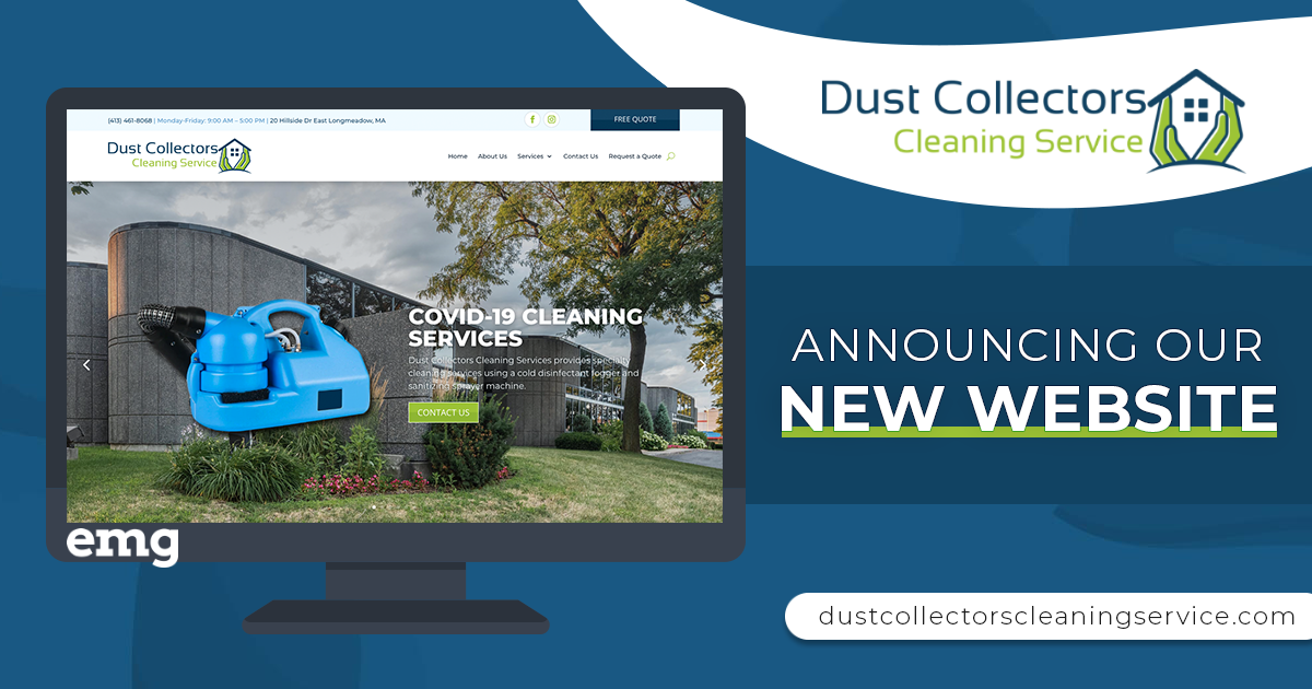 Dust Collectors Cleaning Service Web Design