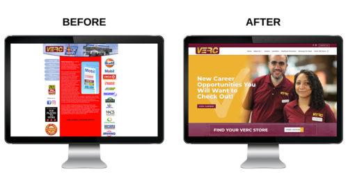 VERC Enterprises New Web Design