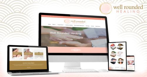 Well Rounded Healing New Branding & Website