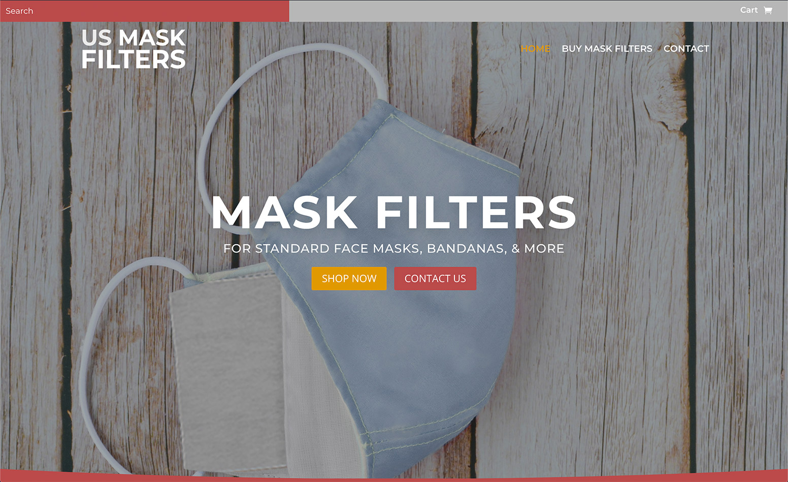 US Mask filters website, web design MA, web design CT, graphic design MA, branding MA, social media marketing